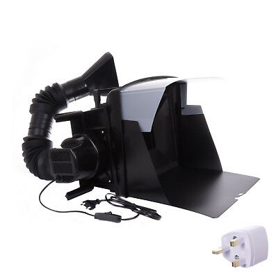 Light Portable Airbrushing Spray Booth with Hose Extractor Fan Filter