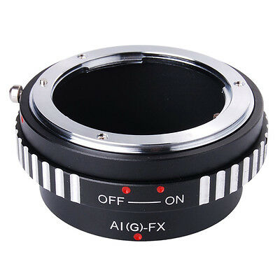 Adapter Ring For Nikon AI AF G lens to Fujifilm Fuji X Mount X-Pro1 Camera M5A6