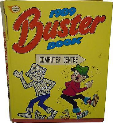 USED The Buster Book Annual 1989 (D.T)