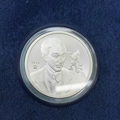 Limited Edition Mickey 60 Years With You #1 Mickey And Walt, 1928 Silver Proof