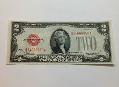 1928 C $2 United States Note, Red Seal Fr1504