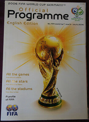 2006 FIFA WORLD CUP GERMANY - Official Programme (English Edition)