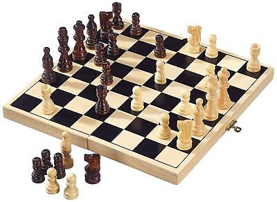 Folding Wooden Chess High Quality Chess Set Wooden Folding  32cm x 32 cm