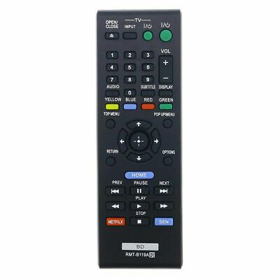 New Replacement Remote BDP-S3100/BF BDP-S5100 For Sony BLU-RAY Disc Player