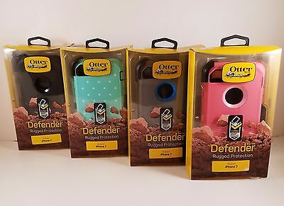 NEW Otterbox Defender for Apple iPhone 7 Case Rugged Cover Protection Belt Clip