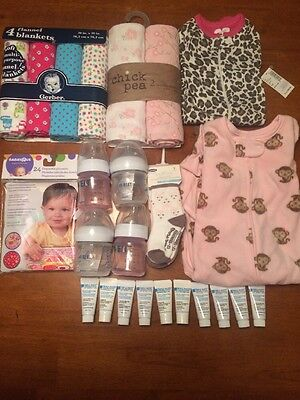 Newborn Baby Girl Mixed Lot All Brand New Take A Look! Avent Gerber
