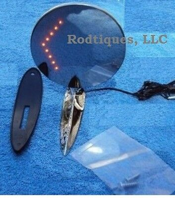 Ford LED Arrow Turn Signal Exterior Door Mirrors Rearview w// Gaskets A-K