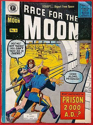 RACE FOR THE MOON 6 THORPE & PORTER SILVER AGE 1959 Steve Ditko & Jack Kirby art