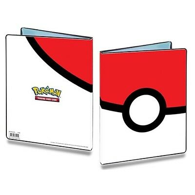 Album Pokemon Pokeball ULTRA PRO rangement 180 cartes 10 pages Portfolio A4 NEUF