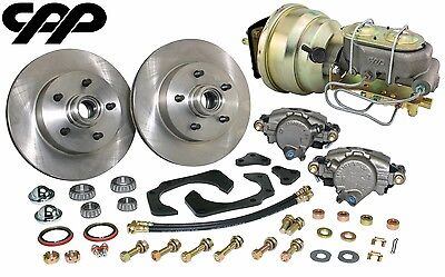 61-68 Cadillac Front Power Disc Brake Conversion Kit Disc / Disc