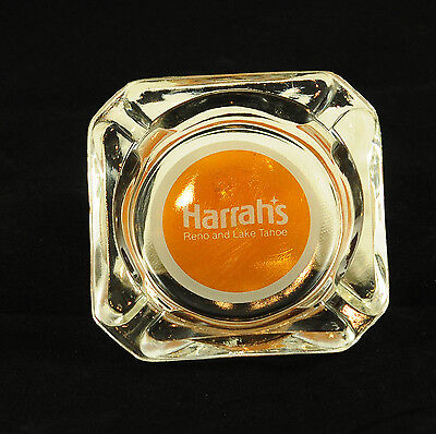 Vintage Harrah's Reno Lake Tahoe Casino Hotel Ashtray