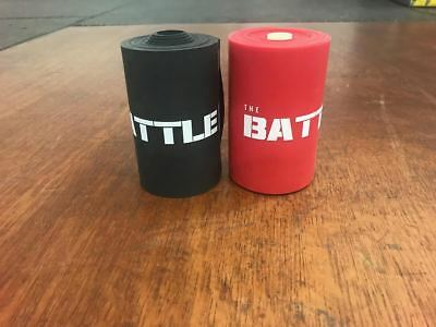 """BattleBoxUK Extra Wide 4"""" MUSCLE FLOSS Band VooDoo 7' Fit Mobility CrossFit"""