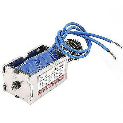 Uxcell Push Pull Type DC Electromagnet Magnet Solenoid, 15 mm 45N DC 12V 2.5A