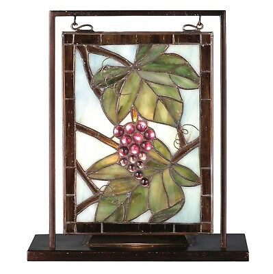 Nappa Vintage Lighted Mini Tabletop Window 9.5 Inch W X 10.5 Inch H