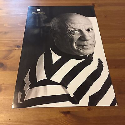 Pablo Picasso Apple Think Different Poster 17x11