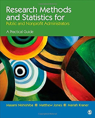 Nishishiba, Masami-Research Methods And Statistics For Public And Nonpr BOOK NEW