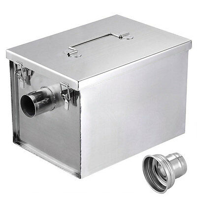 Grease Trap Interceptor 8 lb 5GPM Converter Stainless Steel