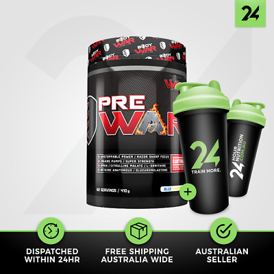 Body War Nutrition Pre War V2 | Extreme Pre Workout Energy | Free Gift!