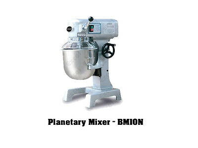 Brand New Commercial Dough Mixer w Netting 10L Bowl Capacity