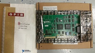 National Instruments (NI) AT-GPIB Rev. E, IEEE-488.2 with ALL MANUALS & Software