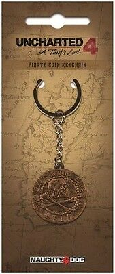Uncharted Keychain Pirate Coin  - BRAND NEW