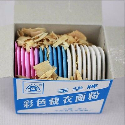 20pcs Assorted Colors Tailor's Fabric Chalks Dressmaker Pattern Sewing Marking