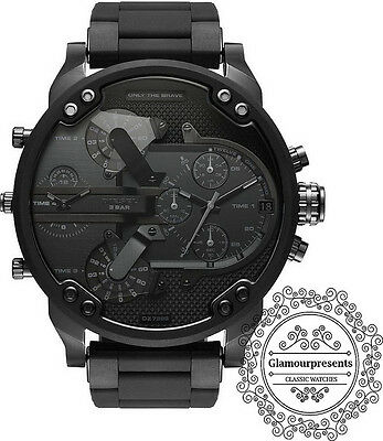 Diesel DZ7396 Mr. Daddy 2.0 Black Dial Men's Chronograph Watch