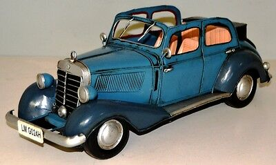 MB 170 V 1936 Oldtimer Blechauto Blechmodell Tin Model Vintage Car 34 cm 37508