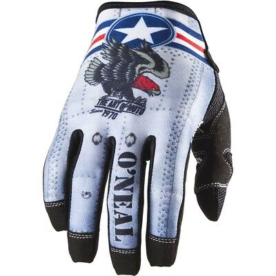 NEW Oneal 2018 MX Gear Mayhem Wingman Grey Red Dirt Bike Motocross Gloves