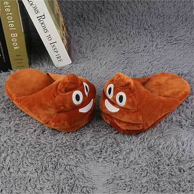 Emoji Plush Stuffed Unisex Home Slippers Cartoon Indoor Home Slipper Shoes YS