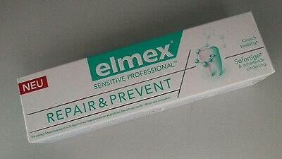 ELMEX SENSITIVE PROFESSIONAL Repair & Prevent Zahncreme Zahnpasta 1 x 75 ml