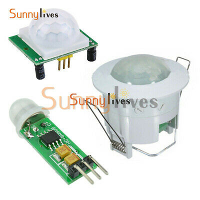 HC-SR505/SR501/360° Ceiling Infrared PIR Body Motion Sensor Lamp Light Detector