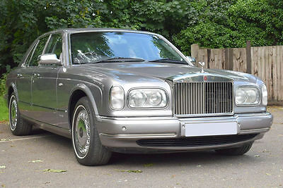 2002/02 Rolls Royce Silver Seraph Last of Line in Silver Tempest