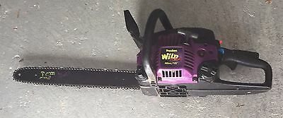 Used Poulan Wild Thing Chainsaw 40cc 18 Gas Chain Saw 1 New Chain 59 00 Picclick