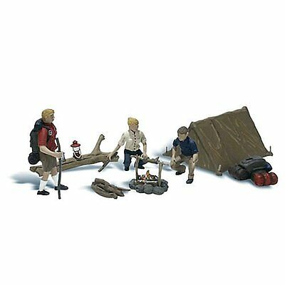 Woodland Scenics / SCENIC ACCENTS #2754 O Scale - CAMPERS - NEW A2754