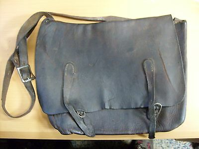 Us Civil War Era Leather Bag / Satchel
