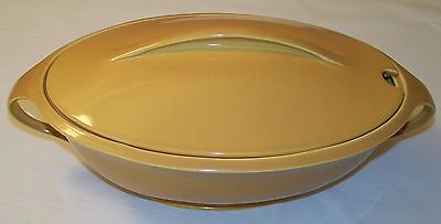 Iroquois Interplay China Mustard Large Soup Tureen -1950's - Ex Condition