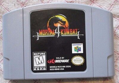 Nintendo 64 N64 Mortal Kombat 4 (game only)