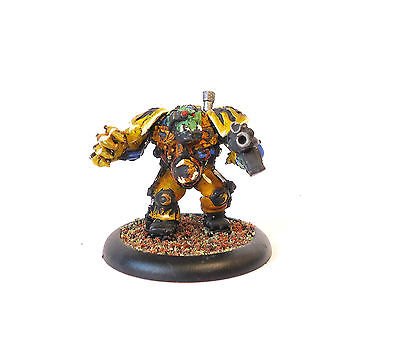Warhammer 40K Army Ork Nob , Painted And Based