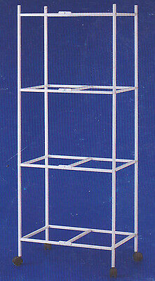 """4 Tiers Rolling Stand for 24""""x16""""x16"""" Aviary Bird Cages - 4134-262"""