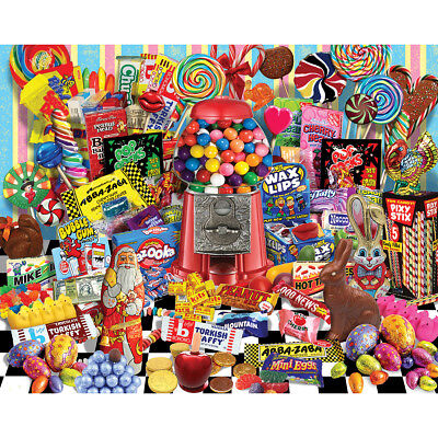"Jigsaw Puzzle 1000 Pieces 24""X30"" Candy For All Seasons WM1136"