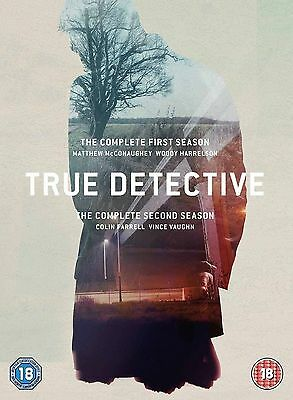 True Detective Complete Collection 1-2 DVD Brand New & SEALED