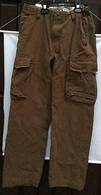 The Children's Place Boys Cargo Pants Adjustable Waist Youth Size 14