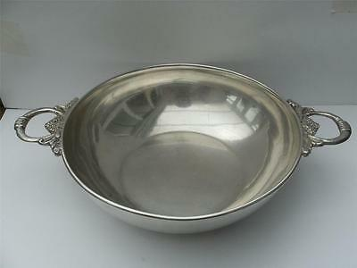 Beautiful Large Solid Silver Bowl Dish