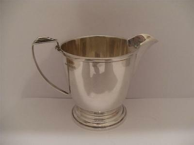 Beautiful Solid Silver Cream Jug Creamer Birmingham 1945