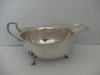 Beautiful Sterling Silver SAUCE GRAVY BOAT Sheffield 1939