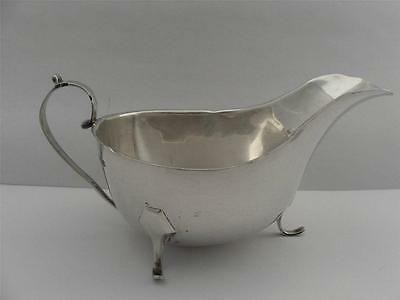 Beautiful Sterling Silver SAUCE BOAT Sheffield 1932