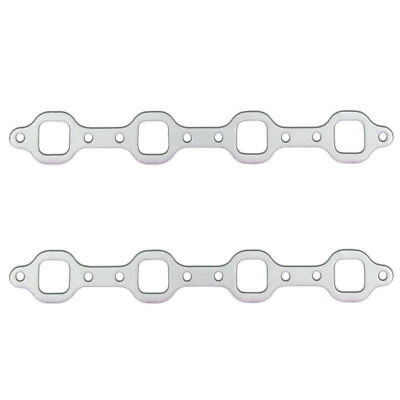 """Remflex Exhaust Header Gasket 3016; Square Port .125/"""" for Ford 170//200//250"""