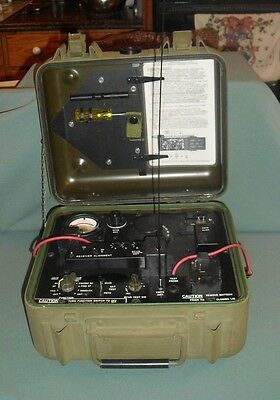 Military Radio ID-1189/PR PRR-T PRR-9 Test Set Channel Alignment Indicator Set.