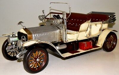 Auto RR Silver Shadow Blechauto Blechmodell Tin Model Vintage Car 37 cm 37269